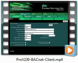 Babel Buster Pro V230 Video - Configuring BACnet Client