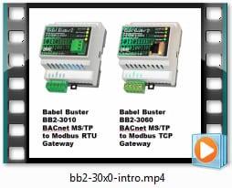 Babel Buster BB2-3010 Modbus to BACnet Gateway