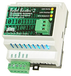 Babel Buster BB2-2010-NB LonWorks to Modbus Gateway
