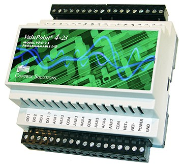 VP4-2330 Programmable I/O for BACnet MS/TP